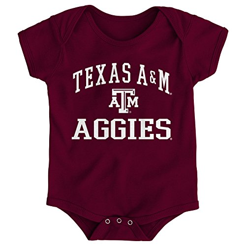 - Gen 2 NCAA Texas A&M Aggies Newborn & Infant Primary Logo Bodysuit, 24 Months, Brick