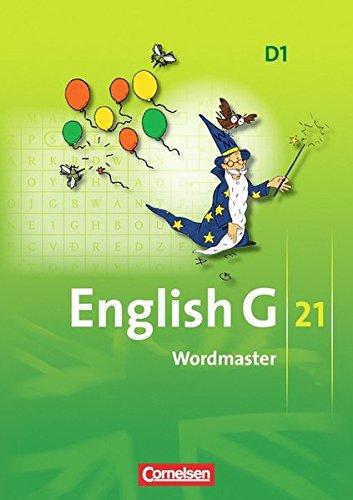 English G 21 - Ausgabe D: Band 1: 5. Schuljahr - Wordmaster mit Lösungen: Vokabellernbuch