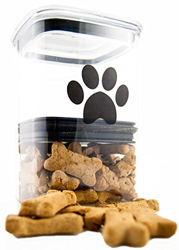 Cheap Airscape Pet Food and Treat Storage Container – Patented Airtight Lid Preserves Food Freshness – Clear Plastic – 64 fl. oz