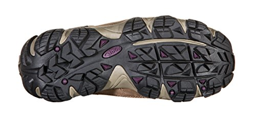 Oboz Women's Sawtooth Low Bdry Hiking Shoe,Violet,7 M US by Oboz (Image #2)