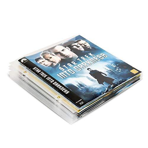 Pack de almacenamiento/DVD - Blu-Ray (50 unidades, 2 archivadores, 50 bandas: Amazon.es: Hogar