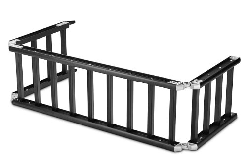 ReadyRamp I-Beam Full-Sized Bed Extender / Ramp Black 100' Open 60' on Truck