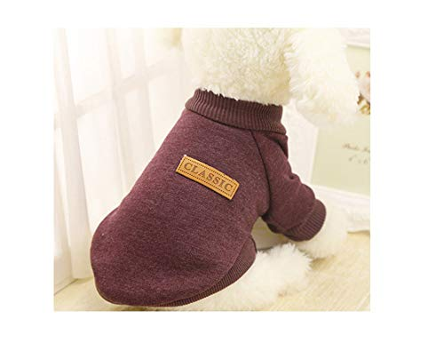 Dog Clothes for Small Dogs Soft Pet Dog Sweater Clothing for Dog Winter Chihuahua Clothes Classic Pet Out -
