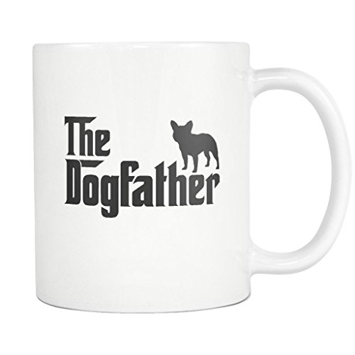 Used, French Bulldog DogFather Coffee Mug Funny Gift Tea for sale  Delivered anywhere in USA