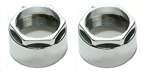 Delta Faucet RP5861 Coupling Nuts, Chrome, 2-Pack - By Plumb - Chrome Coupling Nut