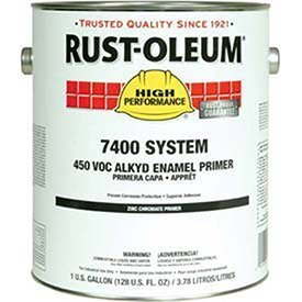 (Rust-Oleum 960402 Yellow High Performance 7400 System Zinc Chromate Primer, 1 gal Can (Pack of 2), State restrictions apply cannot ship into Arizona or Indiana)