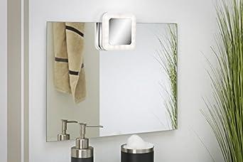 sinoma Briloner Leuchten l/ámpara LED para espejo cromo 2296-018 1 x 4,5 W orientable