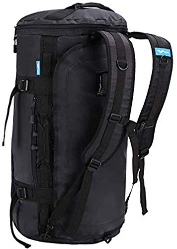 MIER Large Outdoor Duffel Rucksack Sport Sporttasche Rucksack mit Schuhfach Cabrio zu Rucksack, Wasserdicht, 45L/60L/90L