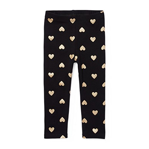The Children's Place Baby Girls Leggings, Gold 5184, 12-18MOS