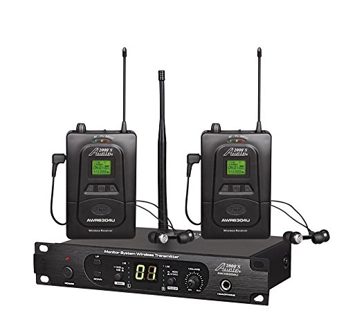 Revised System - Audio2000'S In- In-Ear Audio Monitor System (AWM6305U)
