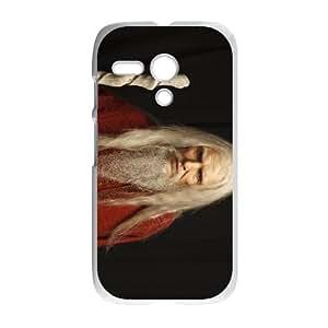 Merlin Motorola G Cell Phone Case White