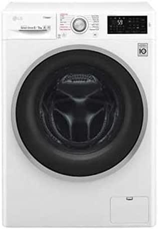 LG F4J6TG1W Independiente Carga frontal A Blanco lavadora ...
