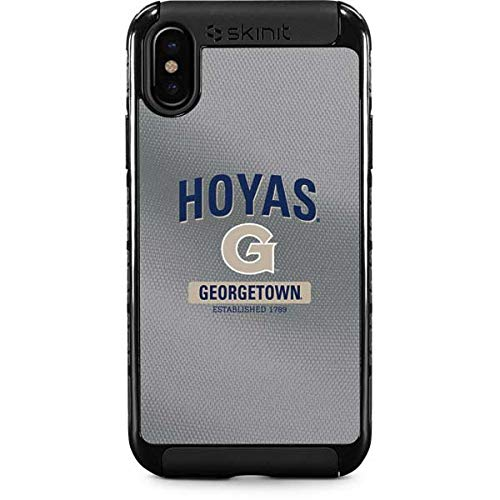 Georgetown Exterior Wall - Georgetown University iPhone Xs Max Case - Collegiate Licensing Co | Skinit Cargo Case - Durable Double Layer iPhone Xs Max Cover