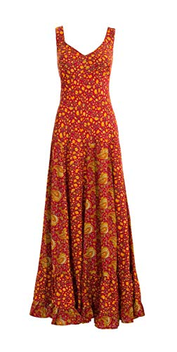 Robe Coline Robe Indienne Rouge Coline Longue rqEwq1