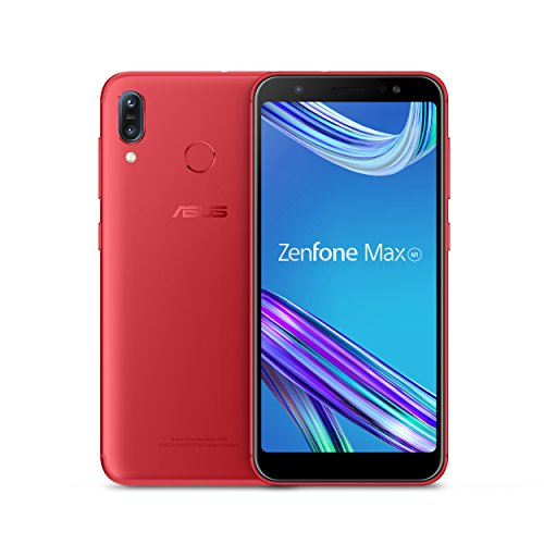 "ASUS ZenFone Max (ZB555KL-S425-2G16G-RD) – 5.5""HD+ 2GB RAM 16GB storage LTE Unlocked Dual SIM Cell phone – US Warranty – Ruby Red"