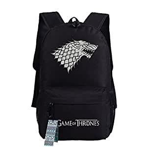Game of Thrones A Song of Ice and Fire Stark Sigil Cosplay Casual Bag Backpack School Bag 4 choices