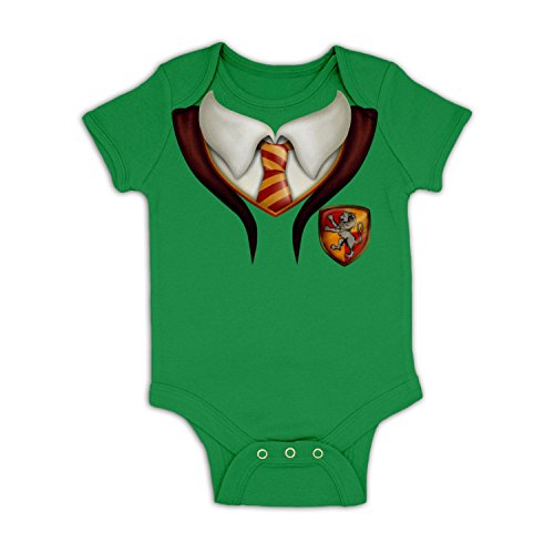 Wizard Kelly Costume (Wizards Apprentice Costume Baby Grow - Kelly Green 18 - 24 Months)