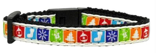 Classic Christmas Nylon and Ribbon Collars . Cat Safety Case Pack 24 Classic ... by DSD