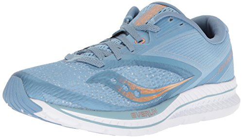 Blue Kinvara 9 Copper Saucony Denim Women's Light Shoes Running wHzwUqY1R