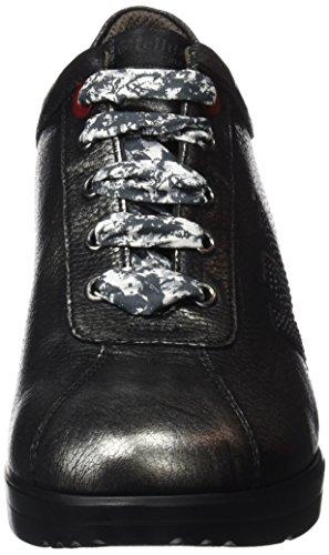 R25802 Donna Melluso Grigio antracite Collo Basso A Sneaker 7xxqwdC