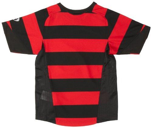 Rosso Game nero Maniche Per Nike Hoop Maglia Ragazzo Corte q0wC5