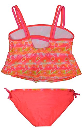 63eb1e22eb4f Real Love Girls' Tankini Bathing Suit Separates (2 Pack), Flowers, Size