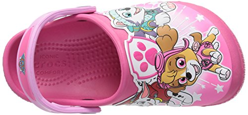 Little Vibrant Kid Us Girls' 11 Pink Clog Crocs Pawpatrol M Funlab wFqvzI