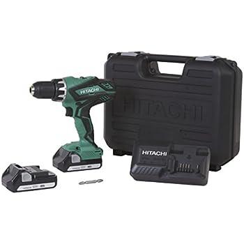 hitachi kc18dgl. hitachi ds18dgl 18-volt cordless lithium-ion 1/2 inch compact drill driver kc18dgl