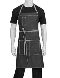 Chef Works Bronx Bib Apron (AB041)
