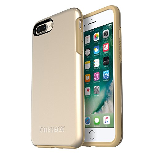Champagne Case - OtterBox Symmetry Series Case for iPhone 8 Plus & iPhone 7 Plus (ONLY) - Champagne