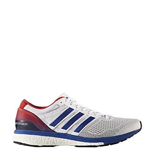 adidas Adizero Boston 6 Aktiv, Zapatillas de Deporte Unisex Adulto Blanco