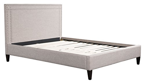 Zuo Modern 100572 Renaissance Bed King Gray