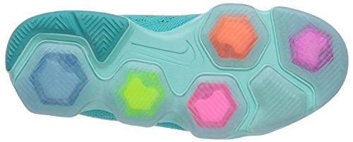 Nike Zoom Fit Agility Running, Allenamento, Scarpe Da Allenamento, Sneakers Donna (taglia: 12) Iper Jade / Avorio-iper Uva-tropicale