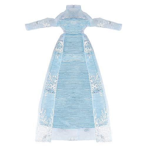 YAMASO Beautiful Queen Snow Princess\'s Doll Clothes and Princess\'s Dress Up for 11.5 inch Doll Clothes