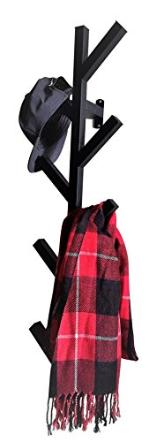 PremiumRacks Coat Rack & Hat Rack - Modern Design - Wall Mounted - Stylish - Durable