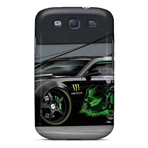 GRleal Case Cover For Galaxy S3 Ultra Slim SqO516fiXa Case Cover
