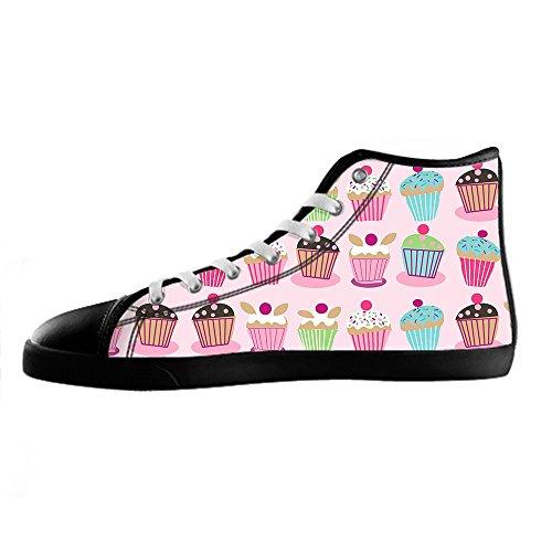 Custom Bign¨ | Sweet Mens Toile Shoes Les Lacets En Haut Au-dessus Des Chaussures De Baskets Chaussures De Toile.