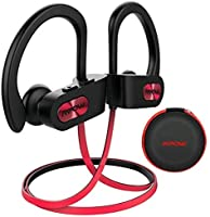 Mpow Bluetooth Auriculares, IPX7 Impermeable In-ear Orejas, Auriculares de Deportes Inalámbricos para Gimnasio Carrera a...