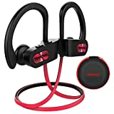 Mpow Bluetooth Auriculares, IPX7 Impermeable In-ear Orejas, Auriculares de Deportes...