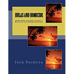 Hulas and Homicide: Everything you need to host a Hawaiian Luau Murder Mystery!