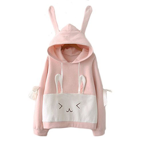 Aza Boutique Girl's Cute 2018 Bunny Sweatshirt