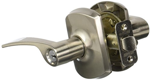 Hardware Schlage Panic (Schlage Lock Company F51AMER619GRW Merano Keyed Entry F51A Panic Proof Door Lever with Greenwic, Satin Nickel)