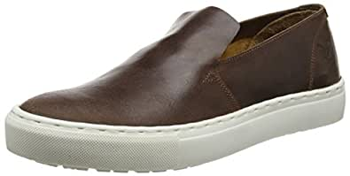Lyle & Scott Alford Leather, Zapatillas de Estar por Casa para Hombre, Marrón (Cognac Z63), 44 EU