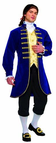 (Costume Culture Men's Aristocrat Costume, Blue, Standard )