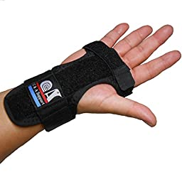 C&A Support New 3D Breathable Patented Fabric RSI Night Wrist Splint, Night Wrist Sleep Support for Carpal Tunnel, Tendonitis, Wrist Pain, Sprains, Adjustable