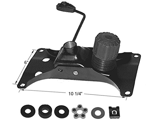 (#3318G) Replacement Office Chair Tilt Control Mechanism and FREE Bearing (Desk Part)