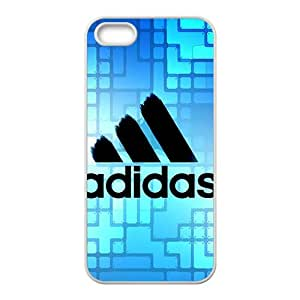 Cool-Benz Fresh Blue backdrop Adidas logo Phone case for iPhone 5s