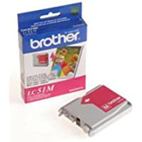 BROTHER Brother LC51M - Magenta - original - ink cartridge - for DCP 350, FAX 2580, IntelliFAX 1860, 1960, 2580, MFC 230, 3360, 465, 5860, 685, 845, 885 / LC51M /