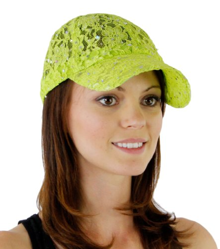 Green Sheer Cap - 2