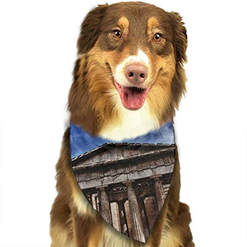 DOGPETROOM City_Athens_Parthenon Pet Dog Cat Pig Puppy Bandana